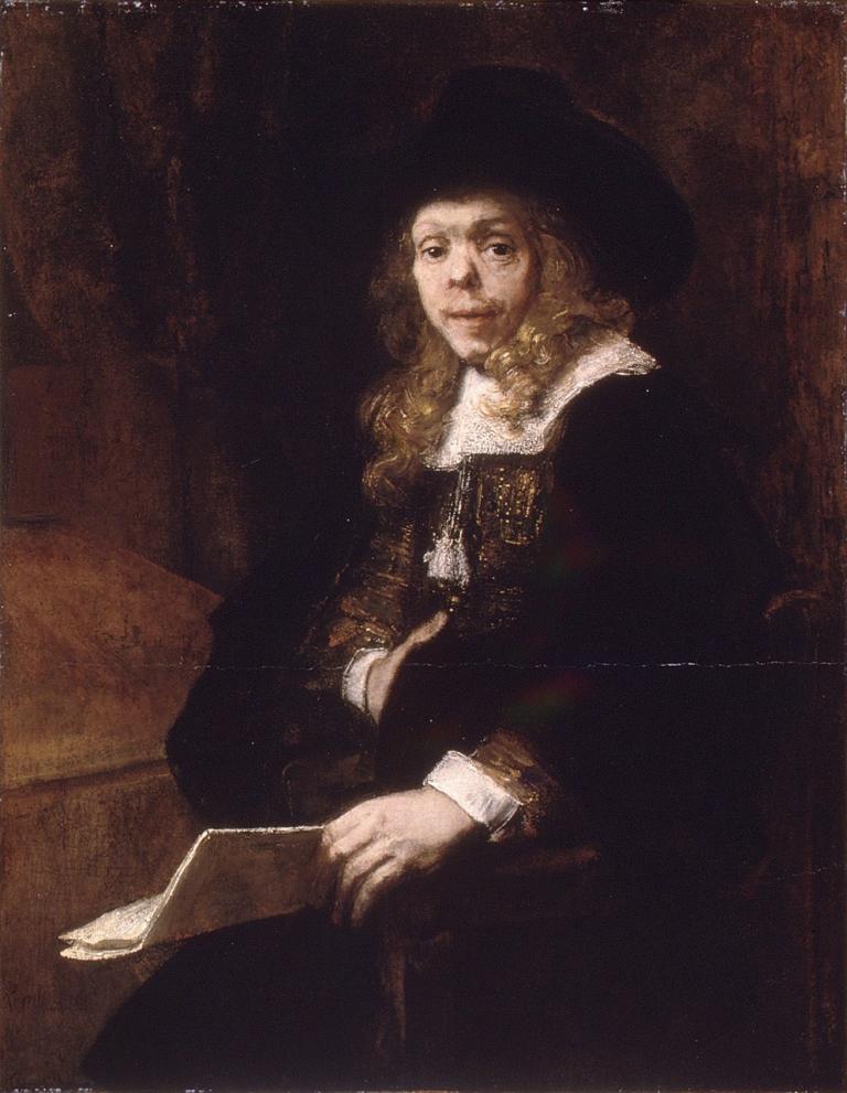 Steph blog 2 Rembrants potrait of Gerard de Lairesse