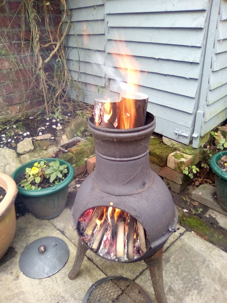 charcoal firing